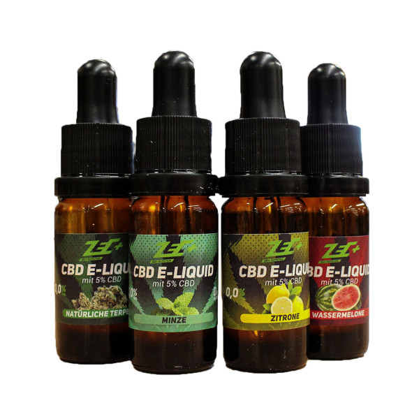 ZEC+ CBD LIQUID | 5% CBD | 10ml